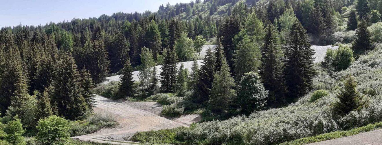 Retour ski sur les Cristaux