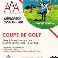 Compétition de golf 3A 2020 : une édition masquée et un peu arrosée