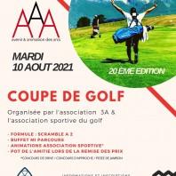 Compétition de golf 3A 2021 : à vos clubs !